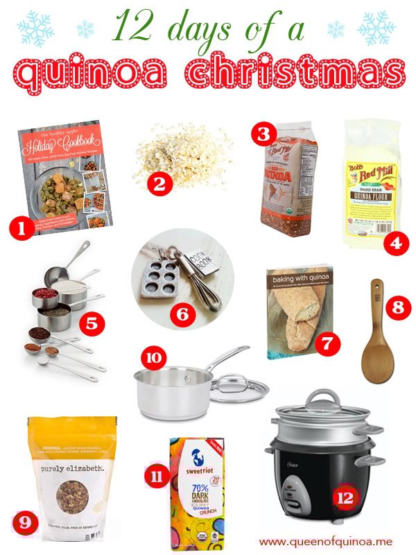 12 Days of a Quinoa Christmas - enter daily to win great prizes!