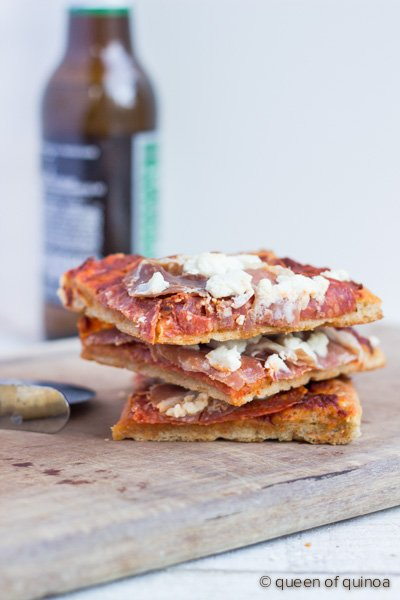 Best Gluten-Free Pizza Crust via @alyssarimmer | #glutenfree