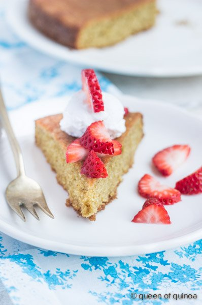 Blood Orange & Almond Flour Cake via @alyssarimmer | #glutenfree