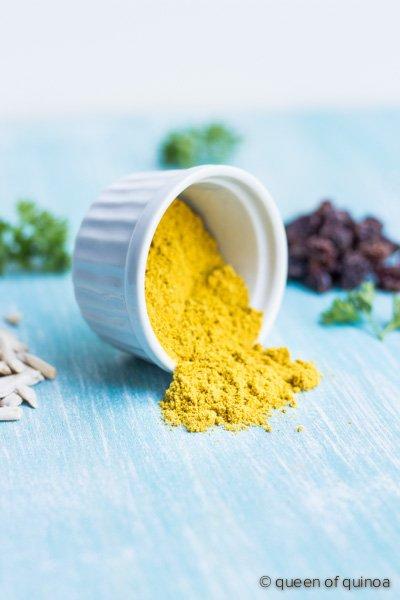 Healthy Curry Chicken Salad from @alyssarimmer | #glutenfree #healthy #lowfat