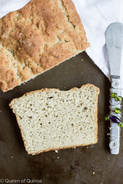 Gluten-Free English Muffin Bread via @alyssarimmer [#glutenfree #dairyfree]