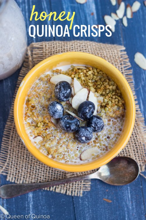 Healthy crispy cereal? You can with this quinoa breakfast recipes!