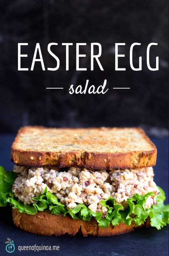 Easter Egg Salad, the perfect way to use up all those easter eggs!