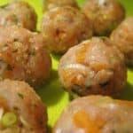 how to make Asian turkey meatballs