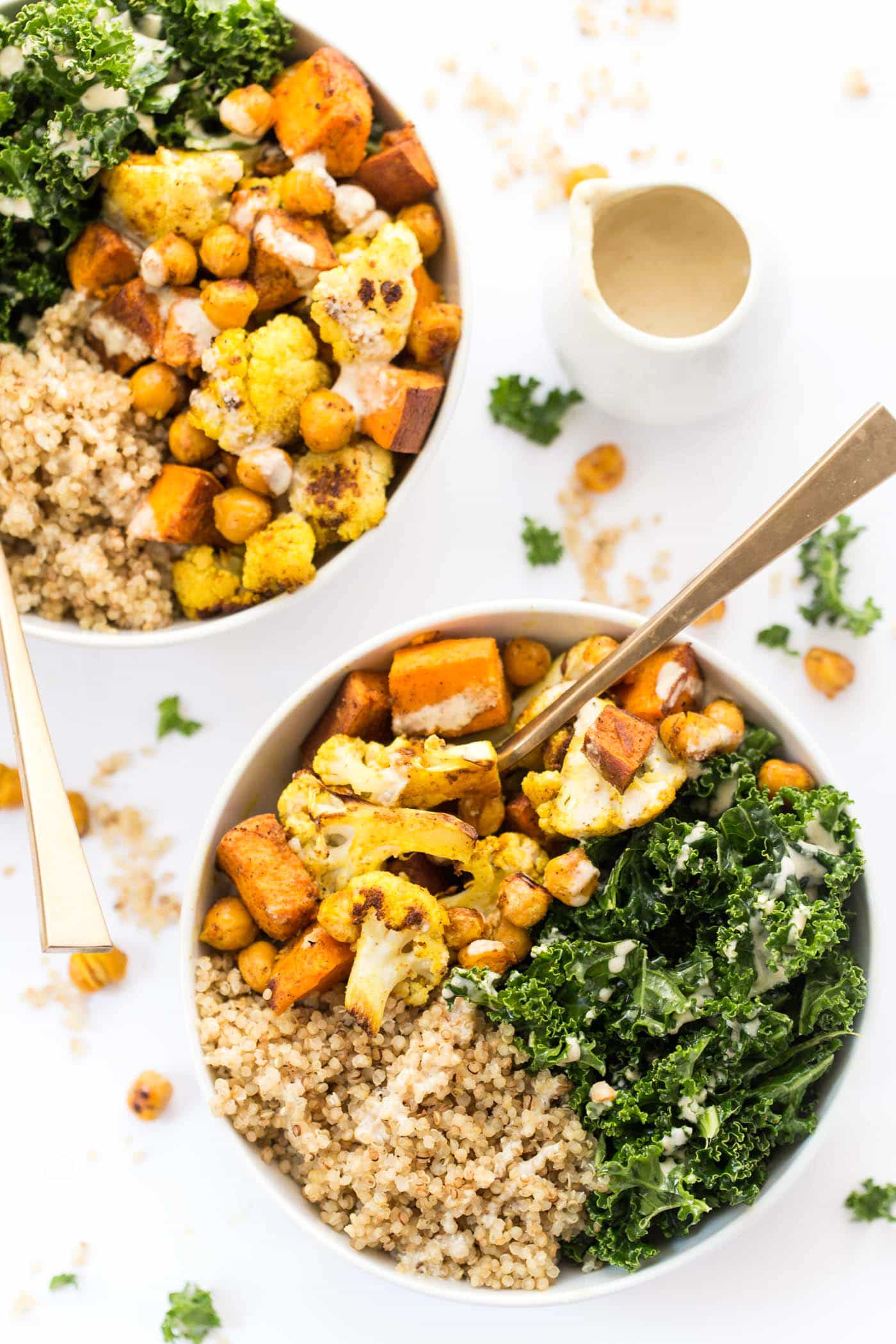 Curry Roasted Vegetable Quinoa Bowls - Simply Quinoa