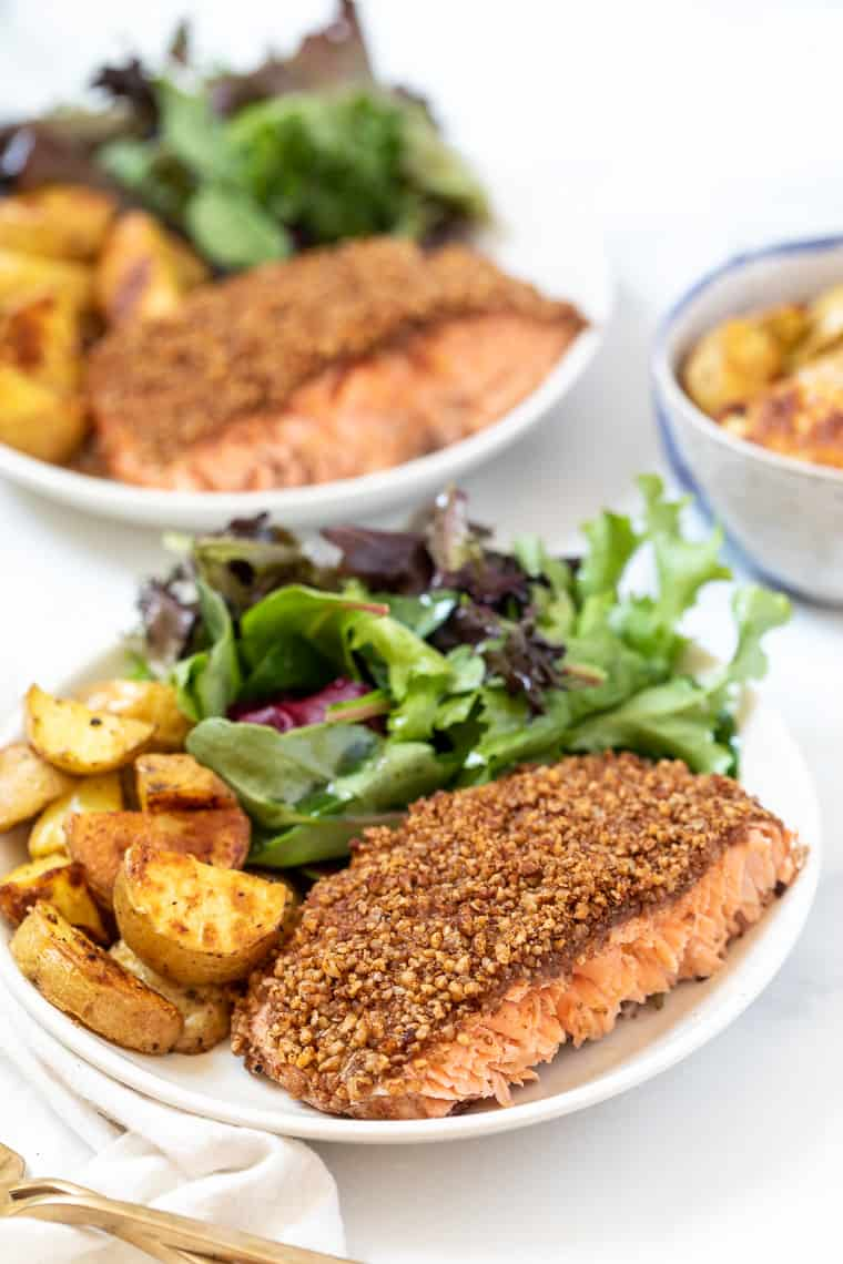 Best Crusted Salmon Recipe