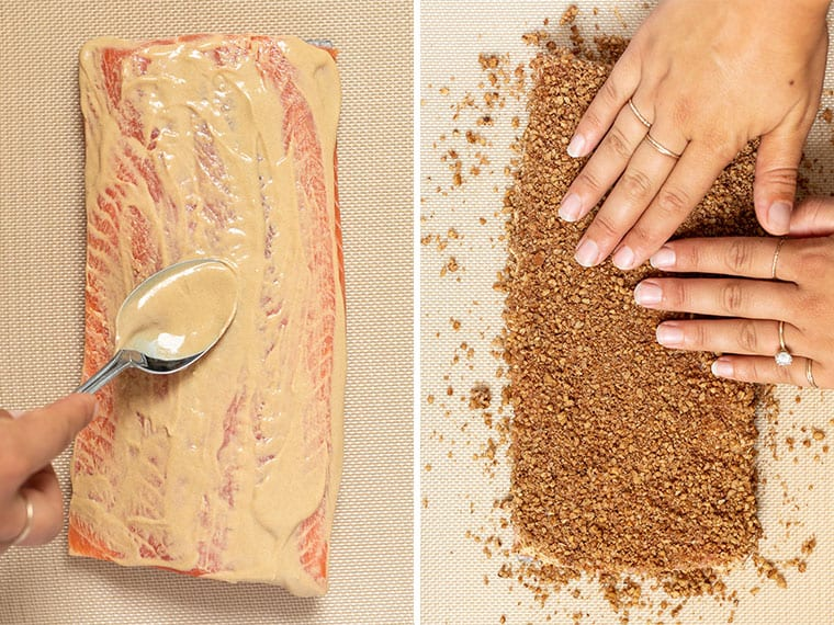 How to Make Crusted Salmon
