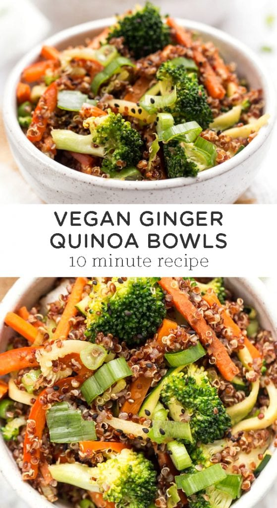 Ginger Quinoa Bowl