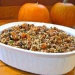 Quinoa Stuffing {a Gluten-Free Thanksgiving}