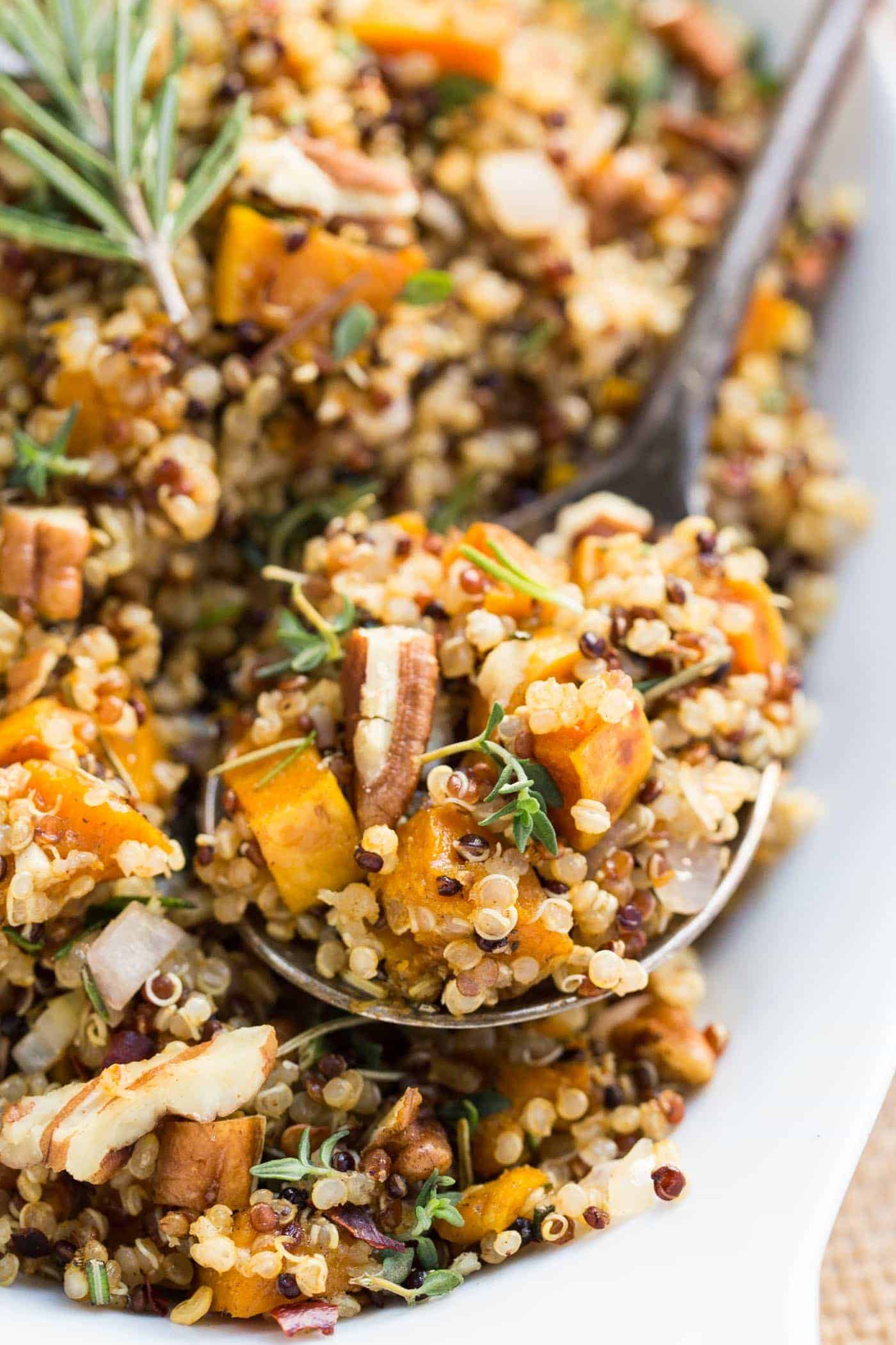 Healthy Quinoa Stuffing Recipe