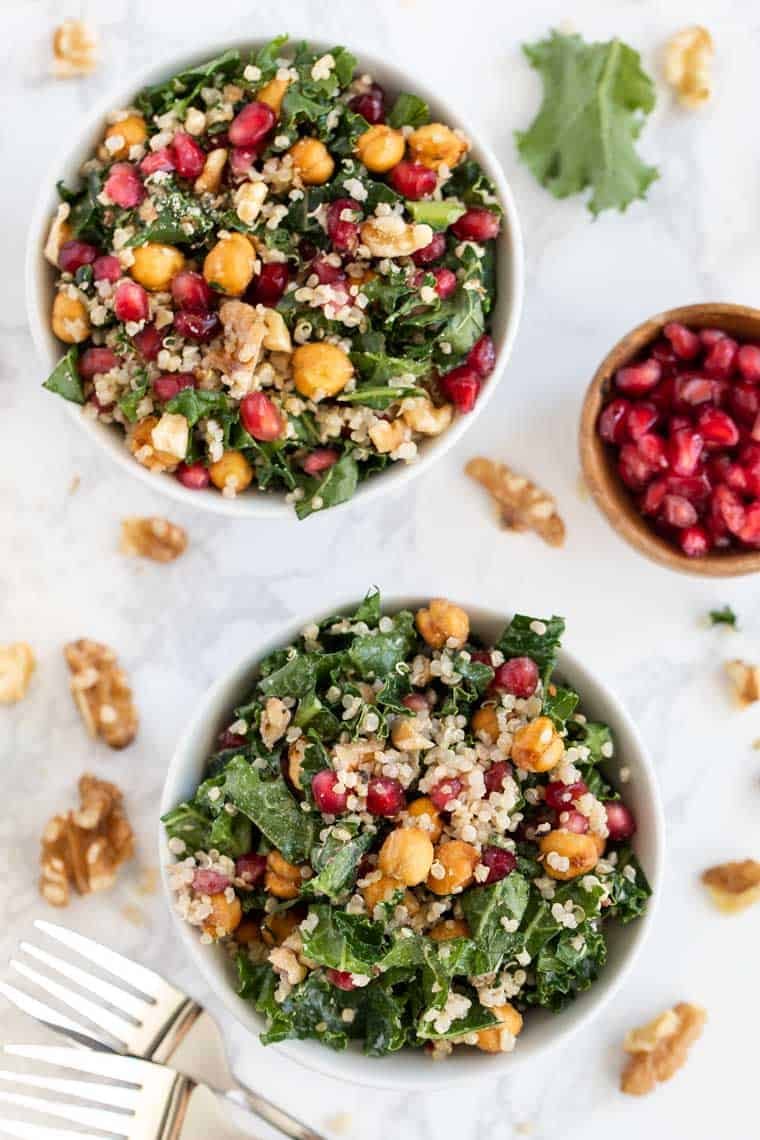 Easy Salad with Pomegranate