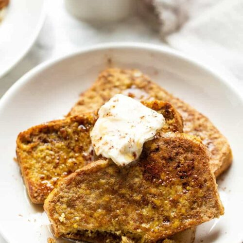 Healthy Cornbread French Toast