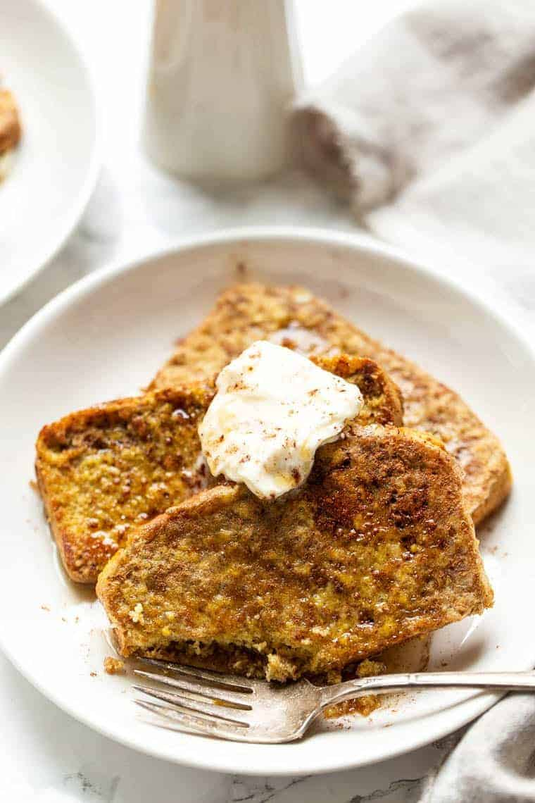 Healthy Cornbread French Toast