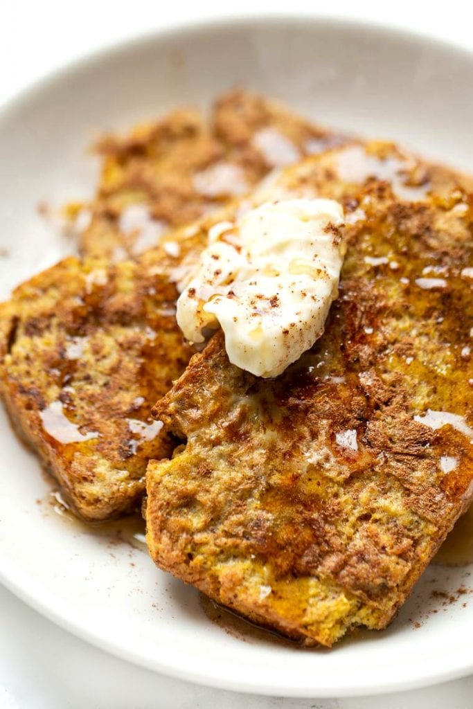 Pumpkin Cornbread French Toast Recipe