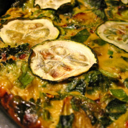 Dairy Free Vegetable Quiche with Quinoa Crust