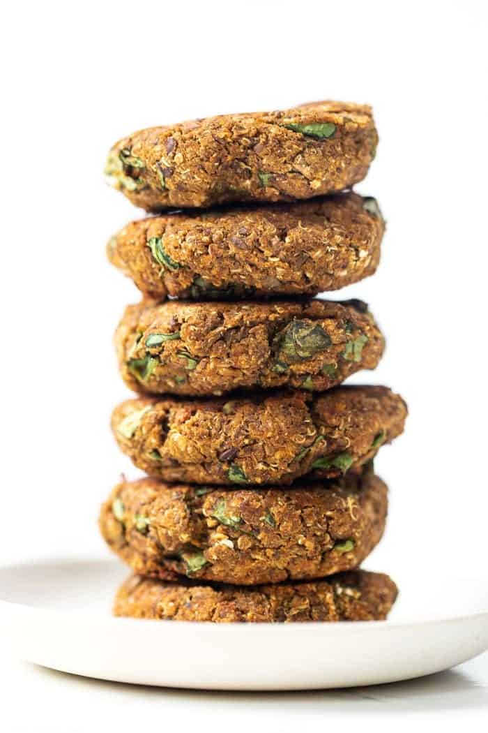 Butternut Squash and Lentil Patties