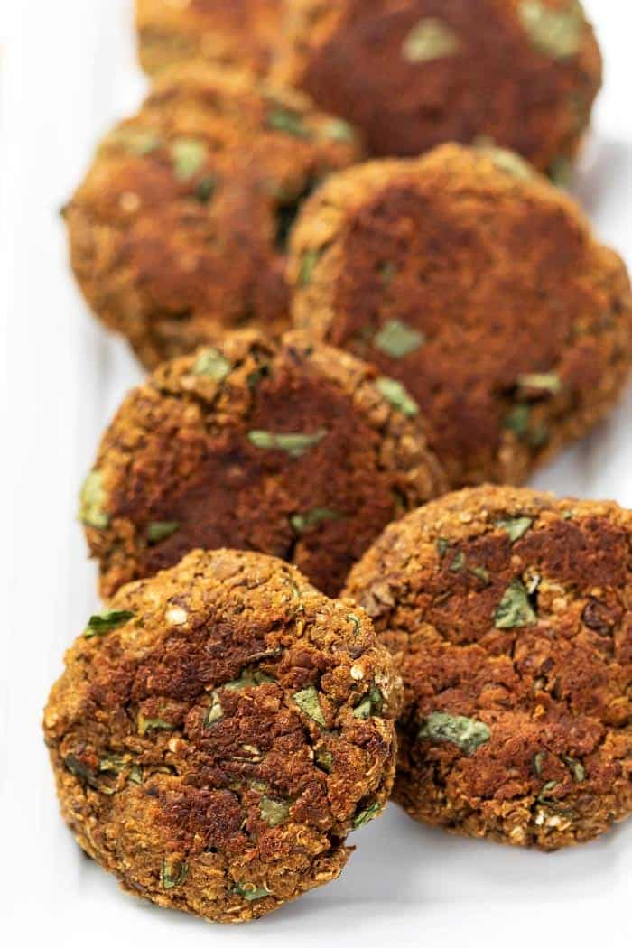 Easy Veggie Burgers with Lentils