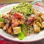 Homemade Chipotle Burrito Bowl with Cilantro-Lime Quinoa