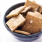 Healthy Quinoa Flour Crackers