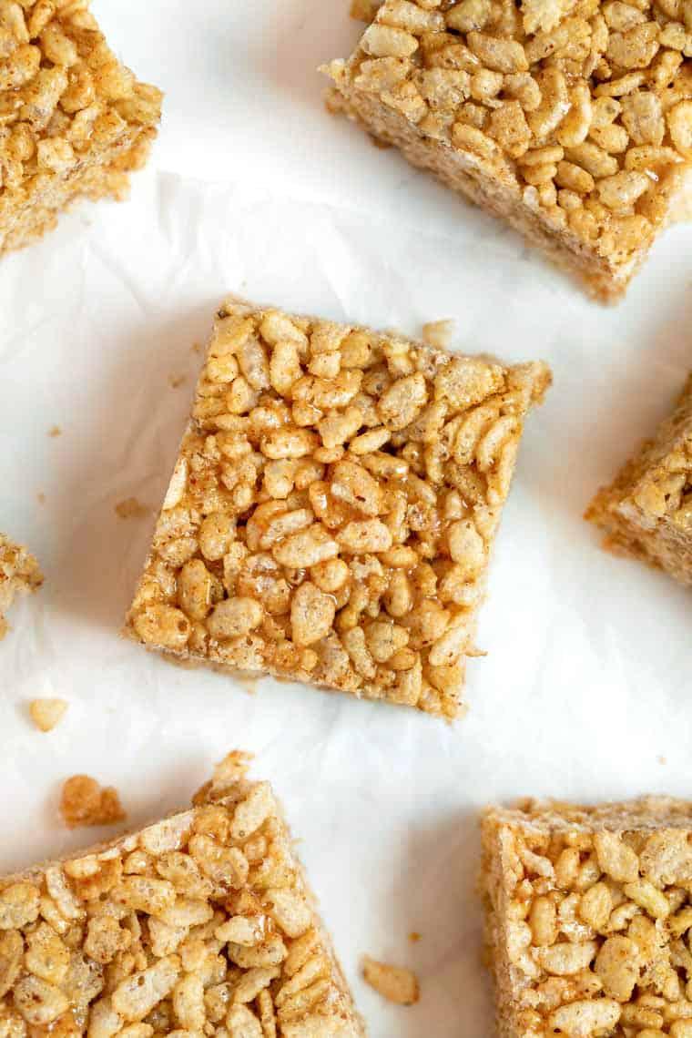 Rice Crispy Treats without Marshmallows