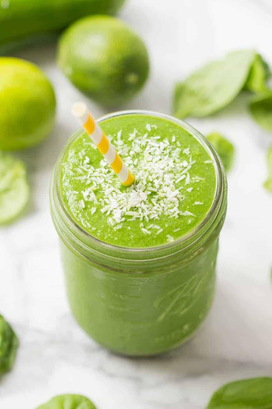Pina Colada Green Smoothie - Simply Quinoa