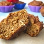 Mini Quinoa Pumpkin Muffins