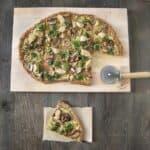 Gluten-Free Quinoa Pizza with Cashew Ricotta