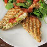Grilled Chicken & Avocado Panini