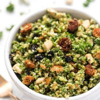 copycat whole foods detox salad with broccoli and kale