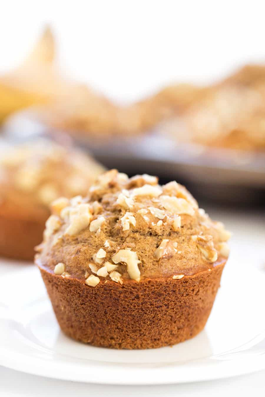 These AMAZING Banana Bread Muffins might be gluten-free, but you'd never be able to tell!