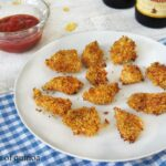 "Gluten-Free Popcorn ""Fried"" Chicken {perfect for Dad}"