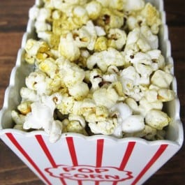 My {not so new} favorite snack: Popcorn!