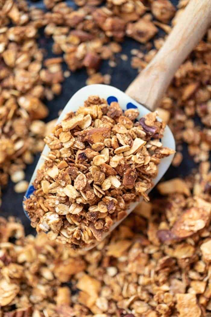How to make Vegan Granola with Quinoa