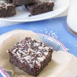 Fudgy Quinoa Brownies