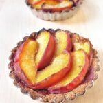 Peach & Black Raspberry Tarts