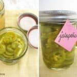 Homemade Pickled Jalapenos