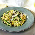 Quinoa Salad with Summer Squash & Currants
