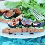 Fig & Goat Cheese Crostini (GF)