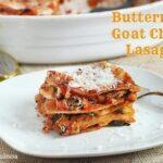 Butternut & Goat Cheese Lasagna
