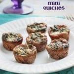 Spinach & Artichoke Mini Quiches