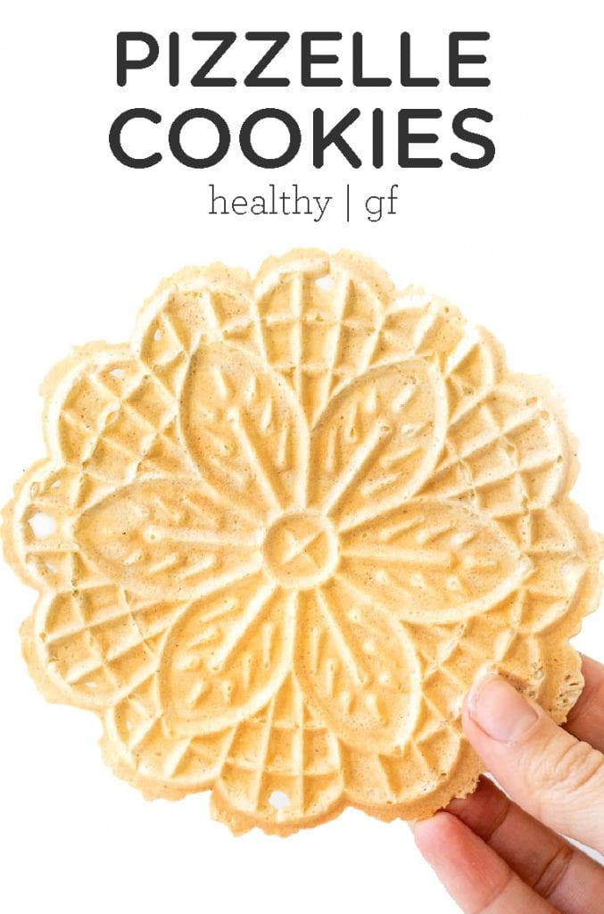 homemade Pizzelle Cookies