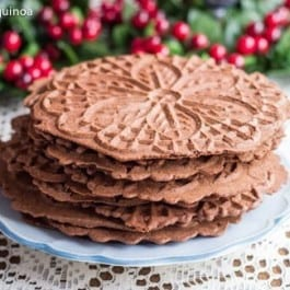 Chocolate Pizzelle Recipe
