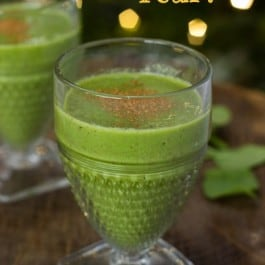 New Year's Intentions + a Green Smoothie