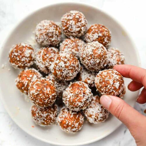 Carrot Cake Bites Recipe