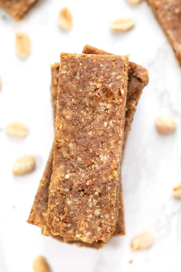 Homemade Peanut Butter Power Bars
