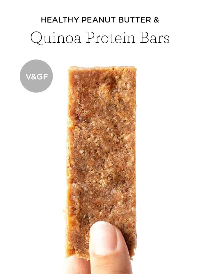Healthy Peanut Butter Quinoa Bars