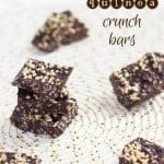 Chocolate Quinoa Crunch Bars [+ giveaway]
