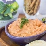 Smoked Salmon Spread with Roasted Red Peppers