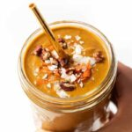 The Perfect Fall Smoothie with Carrot Cake