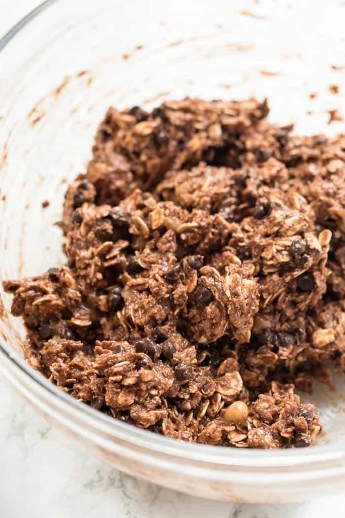 How to make Healthy Oatmeal Cookies with Banana